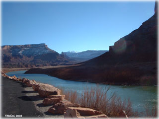 Let the River Flow - Colorado River in CO ©McDel, 2003